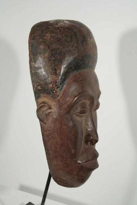 masque plat baoule africain de cote d ivoire 90 60. Black Bedroom Furniture Sets. Home Design Ideas