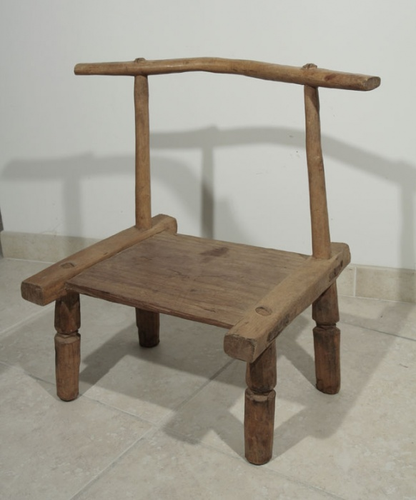 chaise africaine ancienne