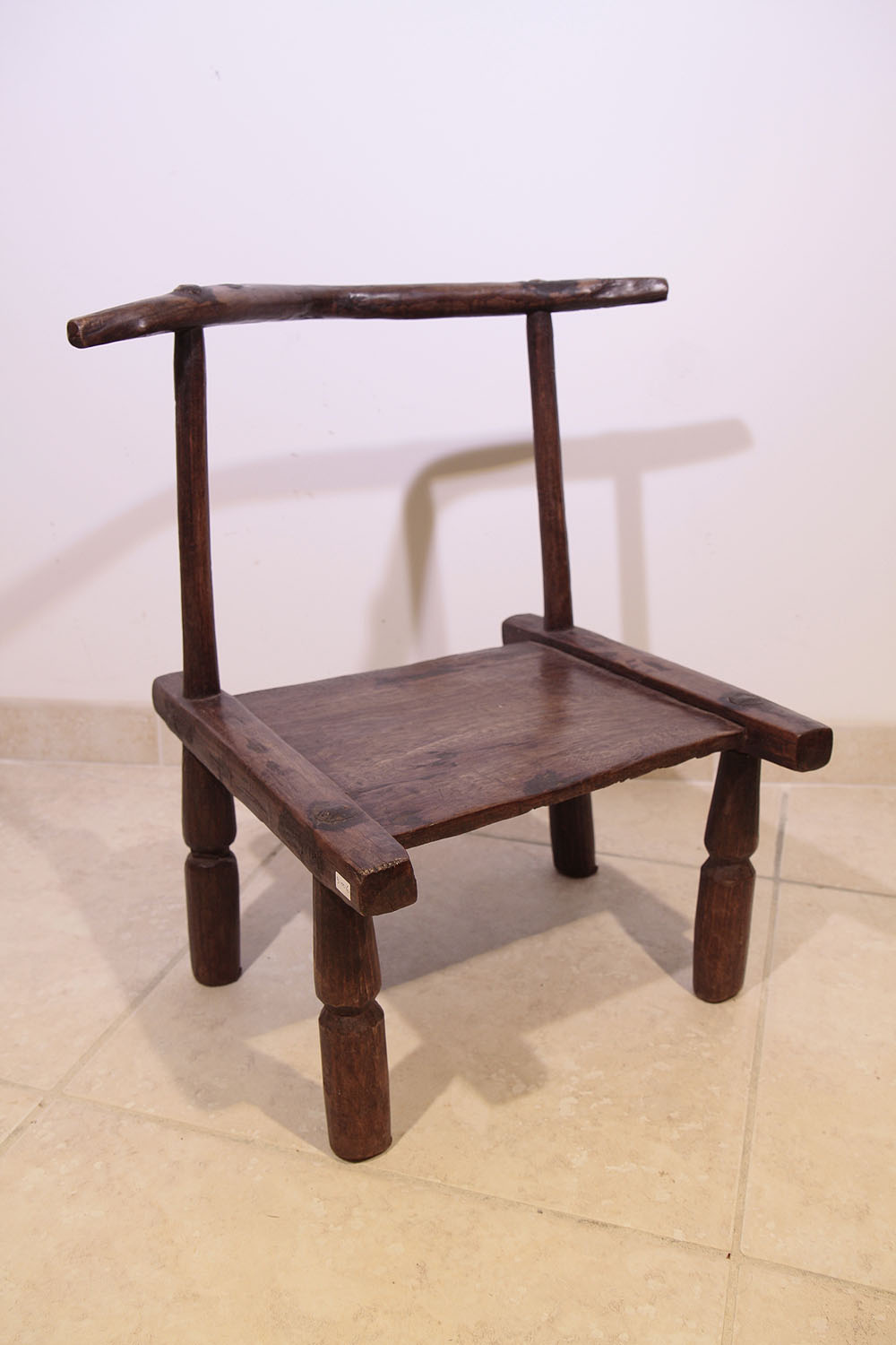 Ancienne chaise africaine baoul 9 006 90 galerie art for Chaise africaine