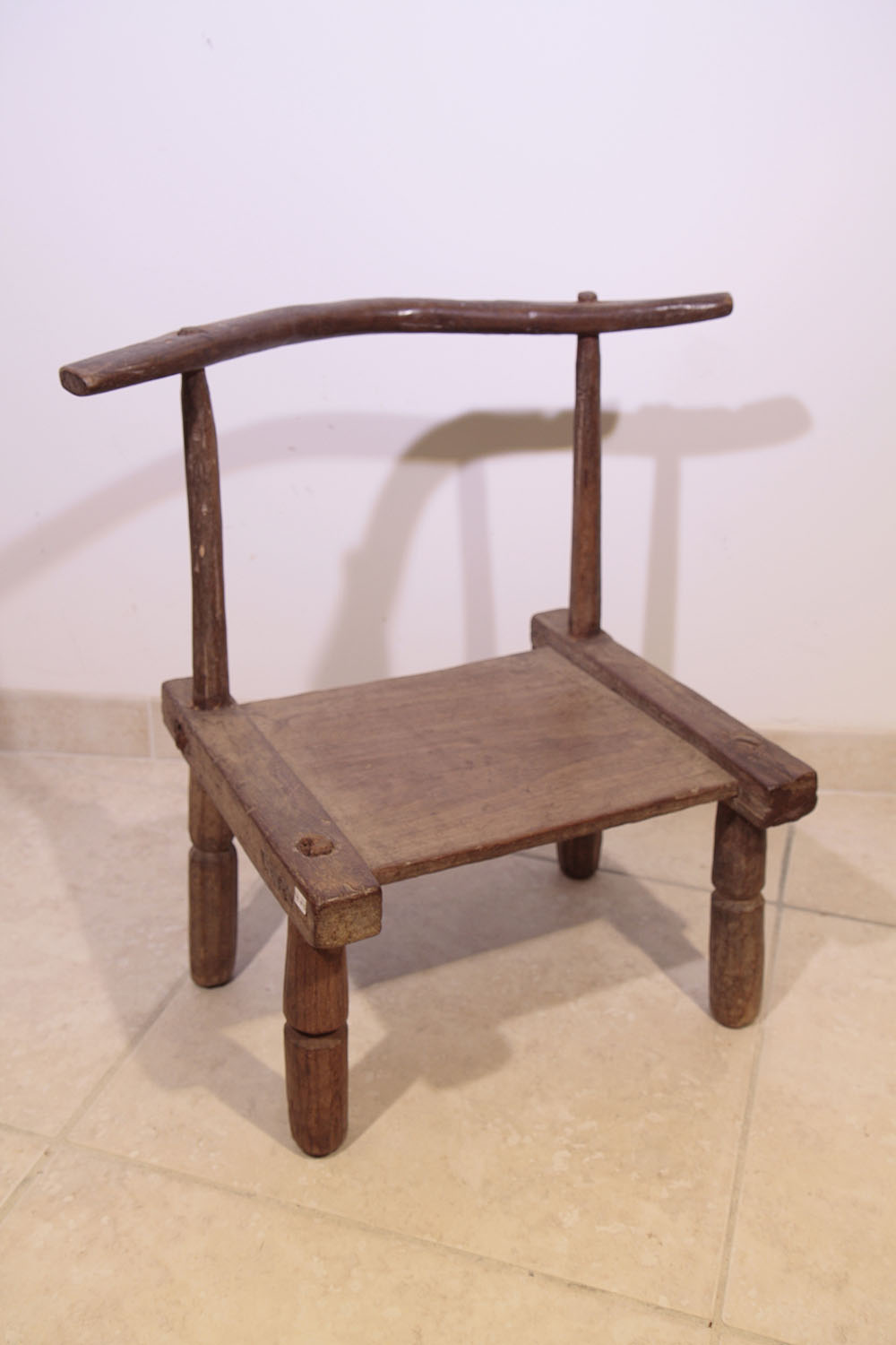 Ancienne chaise africaine baoul 9 003 75 galerie art for Chaise africaine