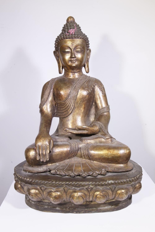 grande statue bouddha en bronze 10 013 2 dragons en bronze 420 galerie art africain. Black Bedroom Furniture Sets. Home Design Ideas