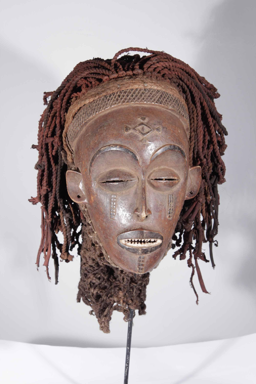 masque africain congolais