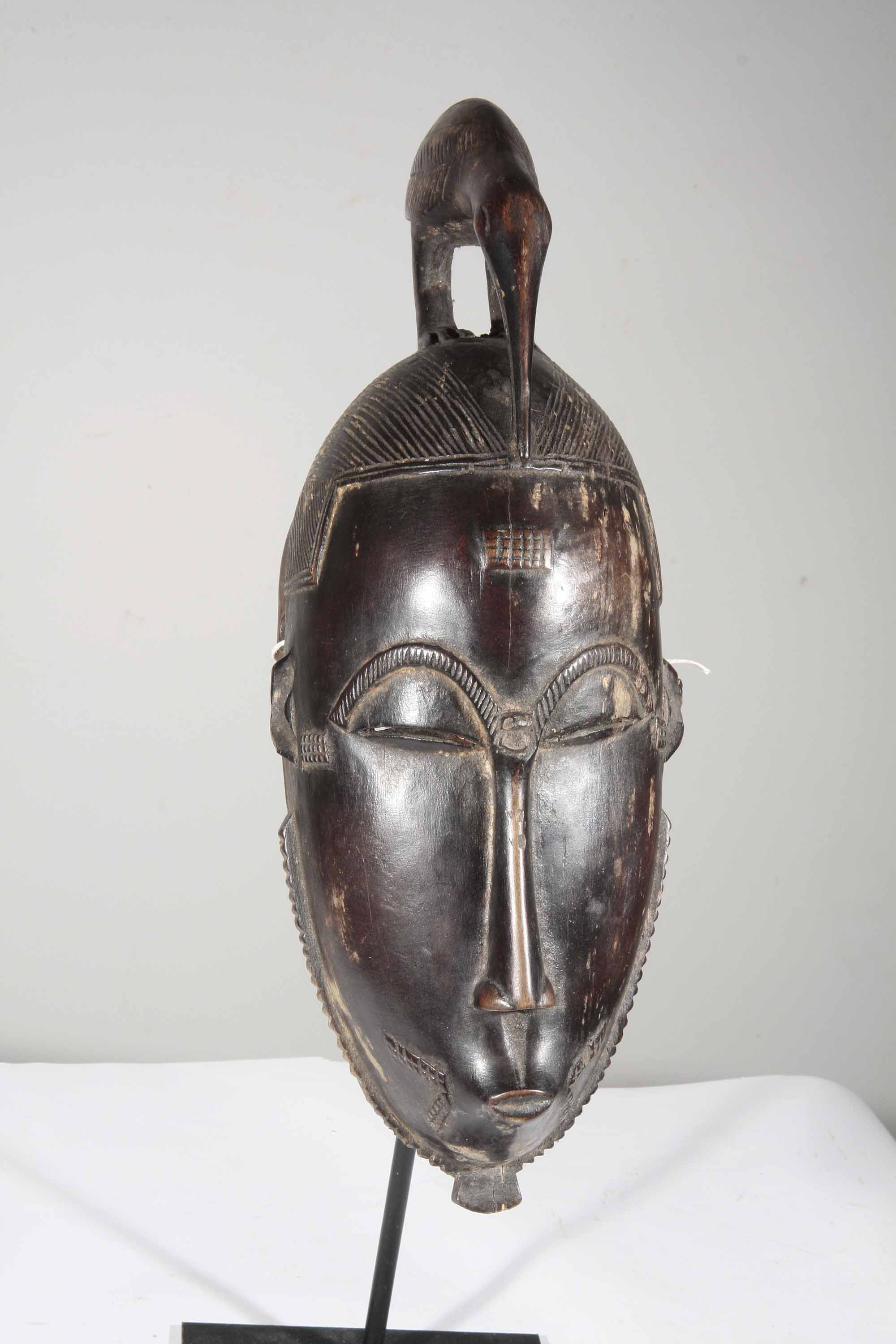 masque africain yaoure