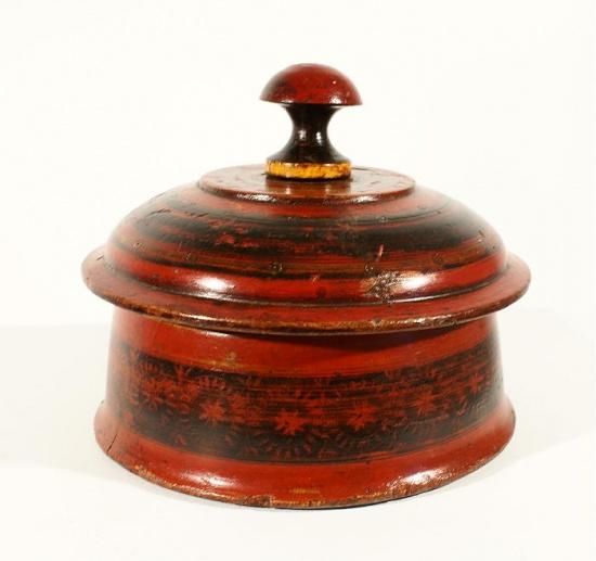 boîte à épice asiatique indienne du Rajasthan, penjab  ~ Bois D Inde Epice