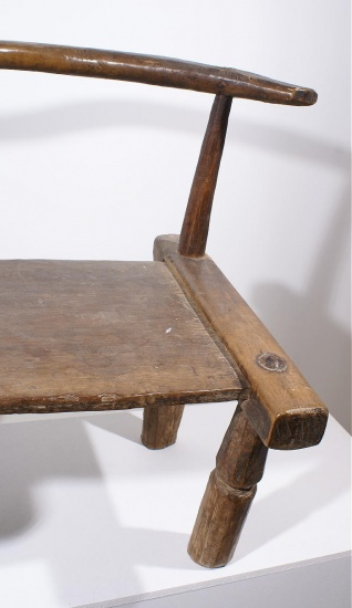 chaise africaine baoule galerie art primitif et artisanat africain. Black Bedroom Furniture Sets. Home Design Ideas