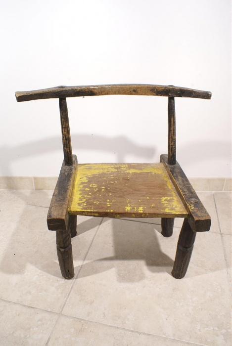 Chaise africaine baoule galerie art africain et d for Chaise africaine