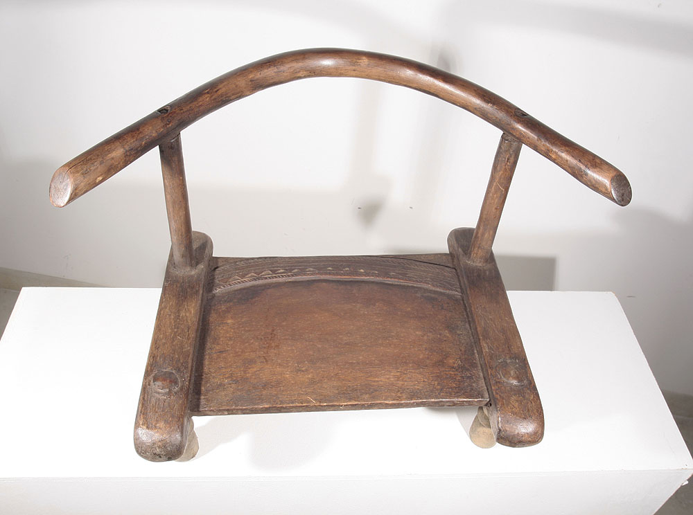 Chaise africaine dan de c te d 39 ivoire 10 447 60 galerie for Chaise africaine