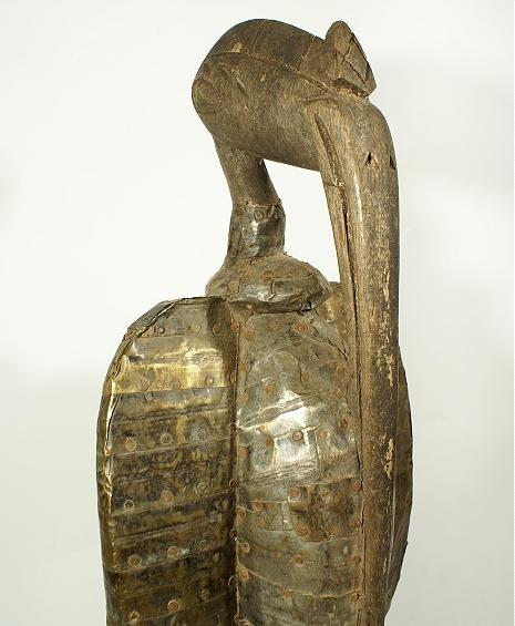 statue africaine calao