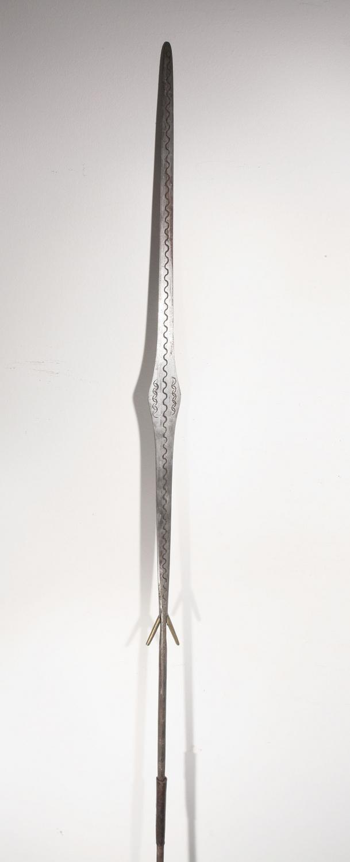 lance africaine touareg du niger 07 100 galerie art