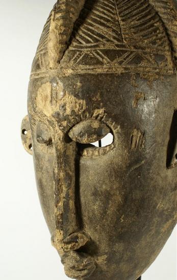 masque africain du mali