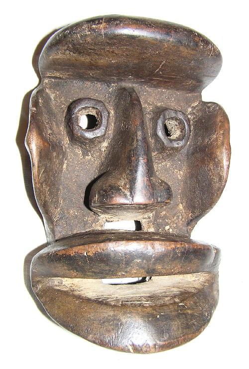 masque africain guere cote d'ivoire