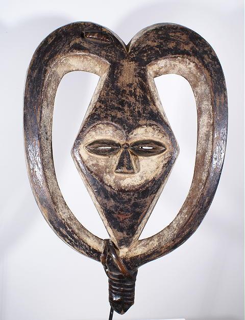 masque africain kwele