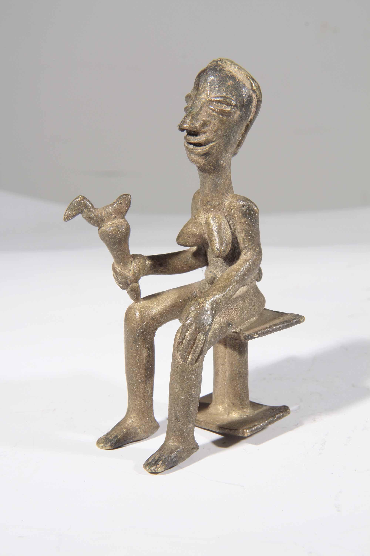 statue africaine en bronze