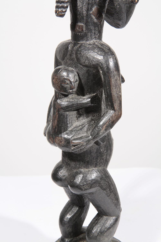 statue africaine maternite