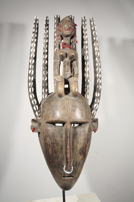 Old Ntomo African Bambara Mask From Mali 09 1000 African