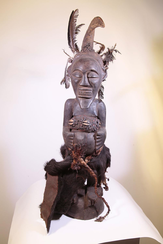 le plus populaire grande vente personnalisé Statue fetiche africain Songye du Congo RDC (ex Zaire) 9-341 ...