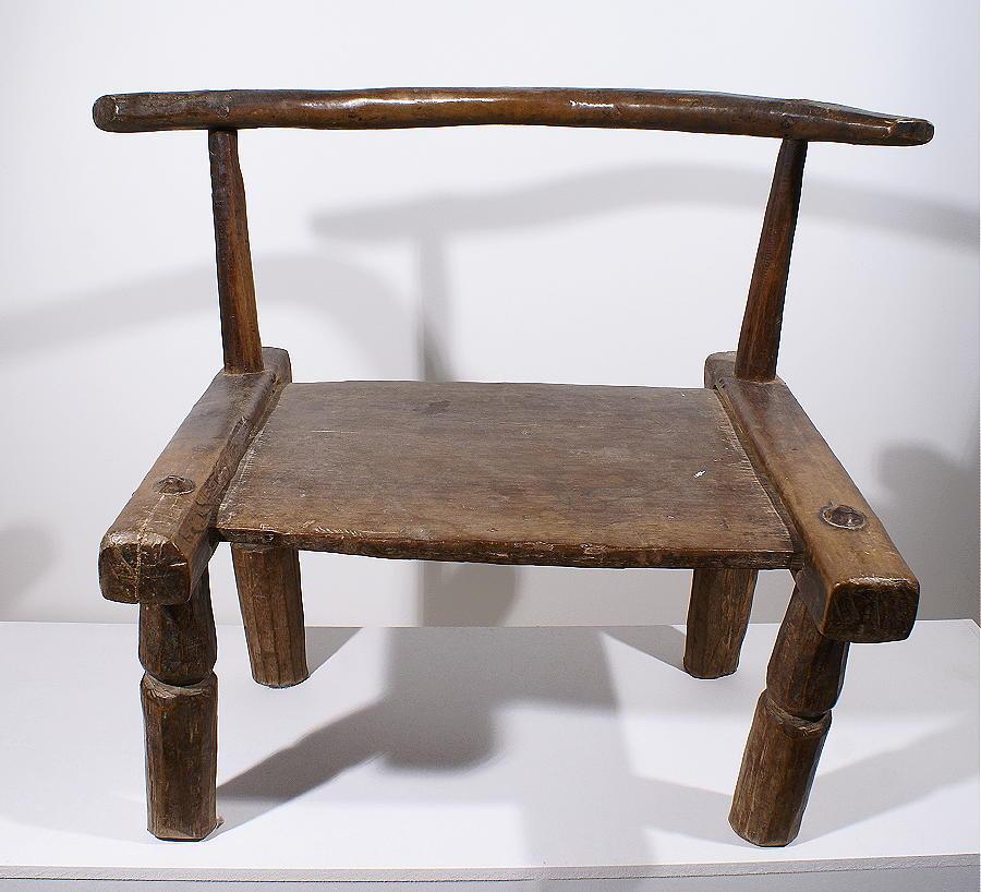 Chaise africaine baoule galerie art primitif et for Chaise 03